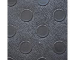 Автолинолеум тёмно-серый с пятачками класса В