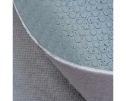 Автолинолеум серый с посыпкой с пятачками