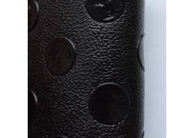 Автолинолеум чёрный с пятачками