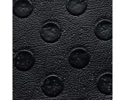 Автолинолеум чёрный с пятачками с посыпкой