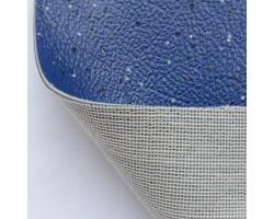 Автолинолеум синий с посыпкой