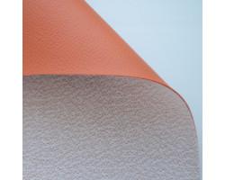 Кожа искусственная обивочная  Оранжевый  Марс